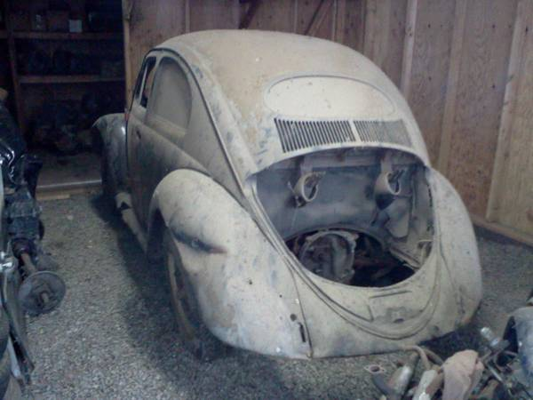 1955 VW Oval Window Bug