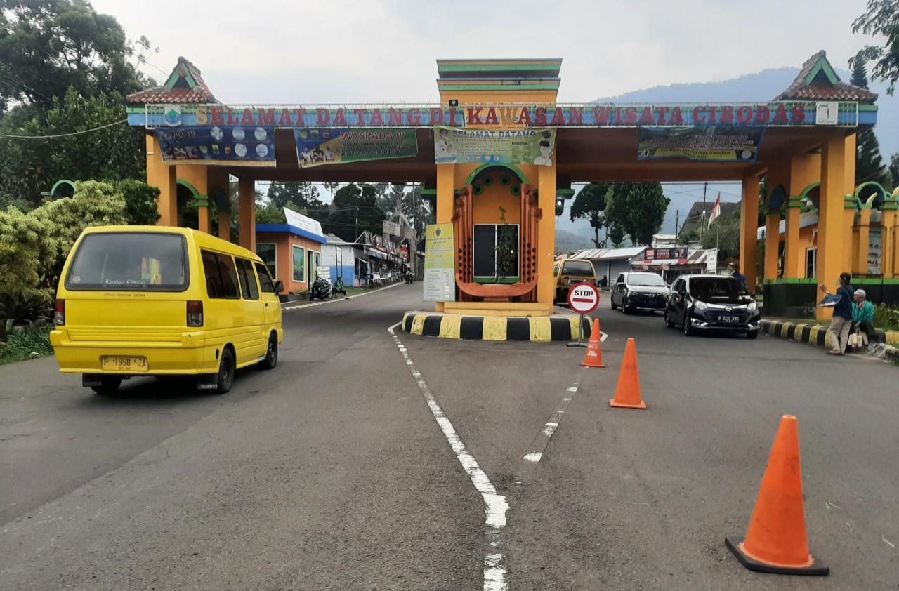 Jakarta Kembali PSBB, Kunjungan Wisatawan di Cibodas Menurun