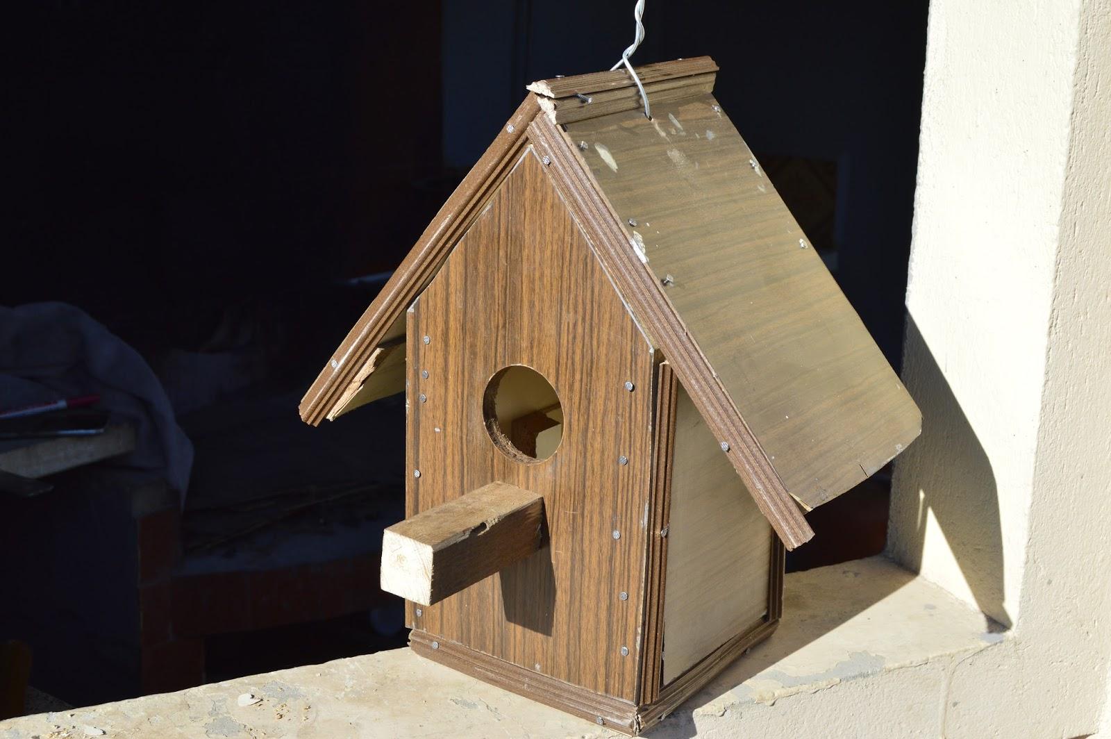 El huerto de tatay una casa para pajaros - Casa para pajaros ...