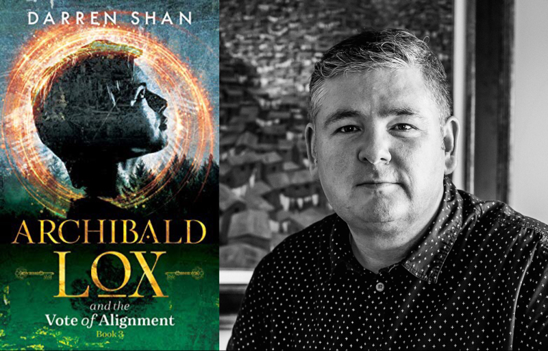Archibald Lox and the Vote of Alignment by Darren Shan | Irish Middle Grade Fantasy Fiction