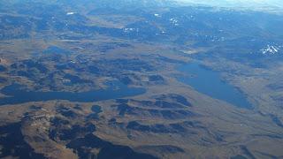 As Lagoas no Alto da Cordilheira dos Andes