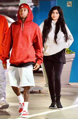 Kylie Jenner And Tyga Seen Showing Off  In LA