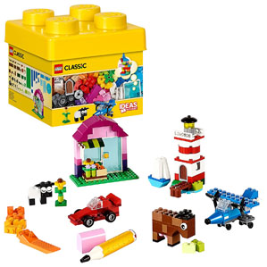 LEGO Classic Creative Bricks Building Blocks for Kids Multi Color