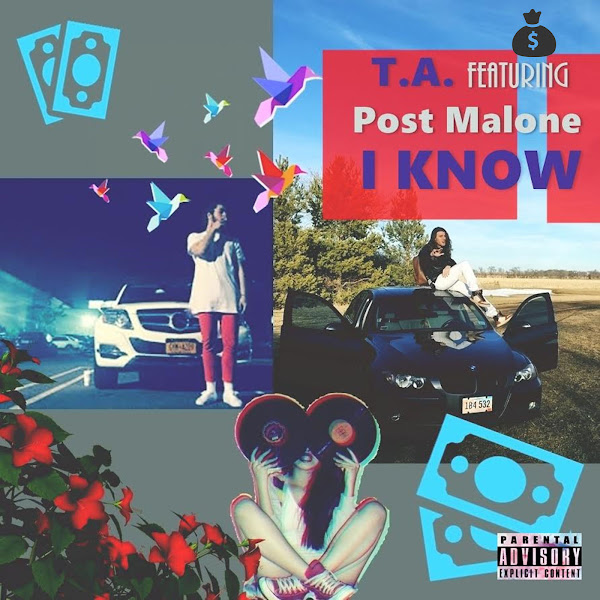 T.A. - I Know (feat. Post Malone) - Single Cover