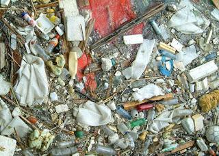 Polusi sampah pembuangan
