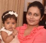 Dilka Samanmali's Daughter's First Birthday