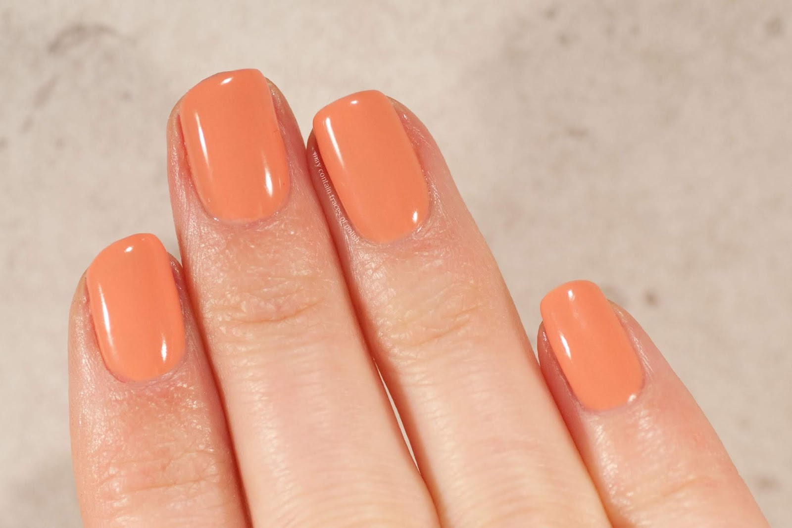Pink Gellac Swatches - 106 Nude Orange