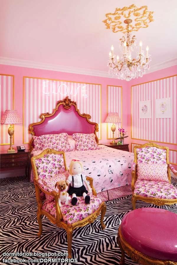 Dormitorios rosados for Recamaras rosas