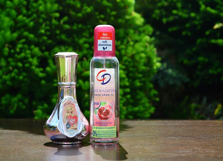Denko - zużycia kosmetyczne - styczeń, luty,marzec - mgiełka perfumowana i deo