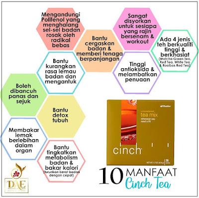 Cinch Tea Shaklee : Manfaat Dan Kelebihan
