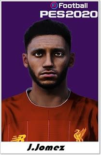 PES 2020 Faces Joe Gomez by Shaft
