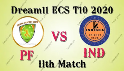 Who will win PF vs IND 11th T10 Match