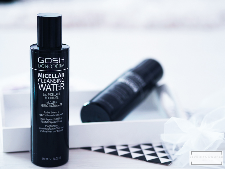 gosh donoderm micellar cleansing water