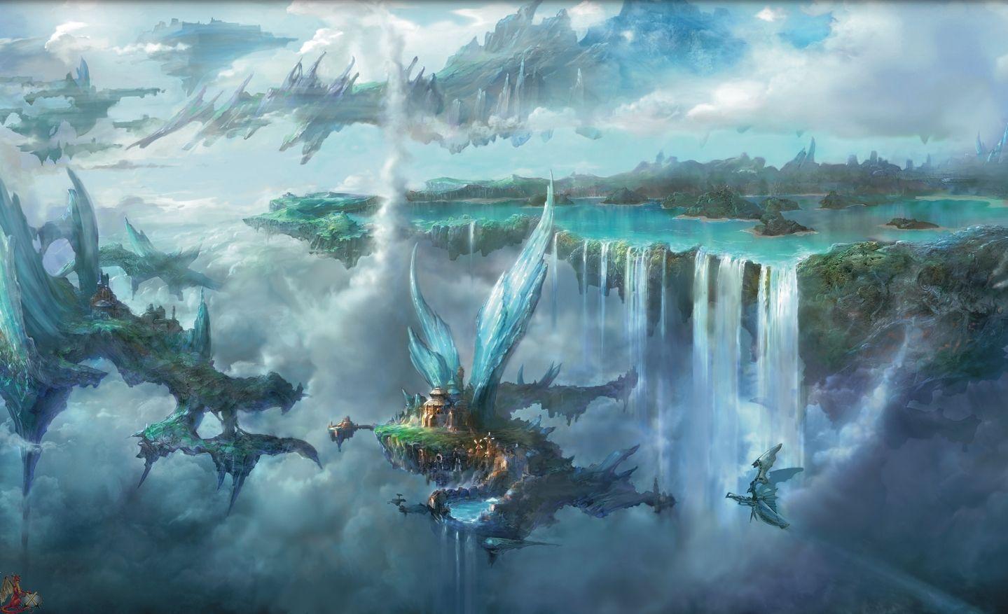 Final Fantasy Landscape Wallpaper