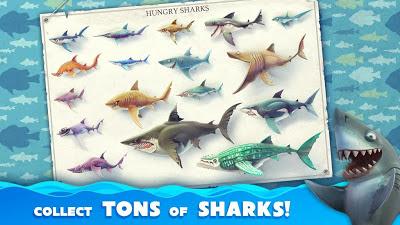 Hungry Shark World النسخة المهكرة