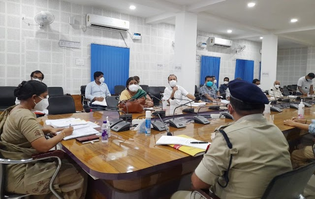 Review meeting on flood preparedness in Bongaigaon district by District Administration