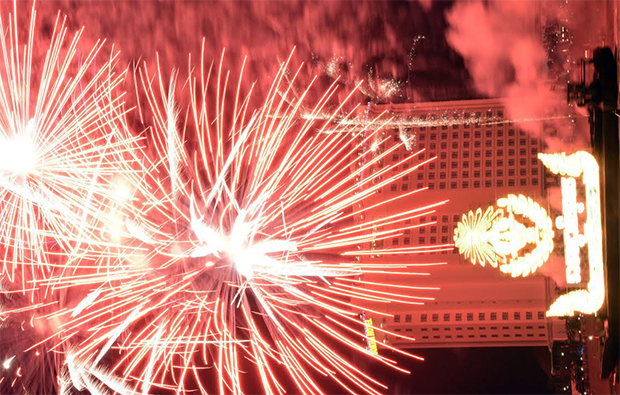 Phnom Penh - Festival des Eaux : Des lumières et des feux sur le Tonlé Sap