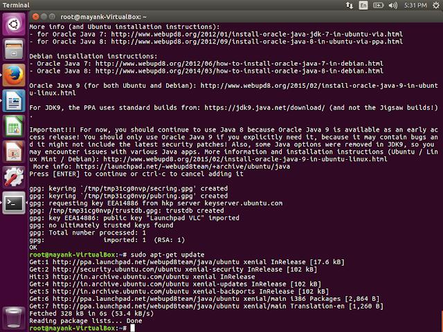 DeVeloper sHoulD kNow: Installation of JRE/JDK in Ubuntu 16 04