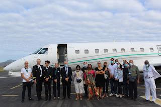 Avion sanitaire Mayotte