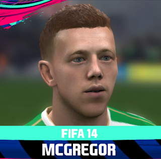 FIFA 14 Faces Callum McGregor by Rale
