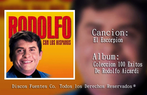 El Escorpion | Rodolfo Aicardi Lyrics