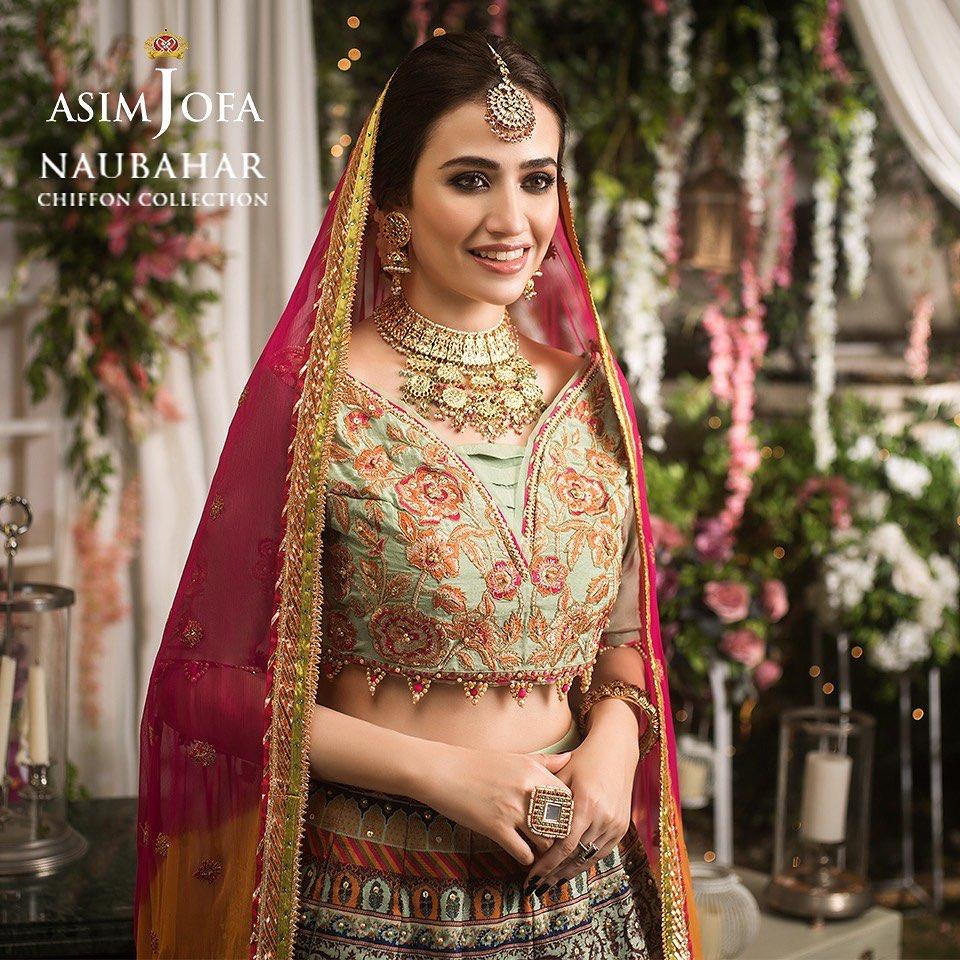Stunning Sana Javed Weddings Dresses