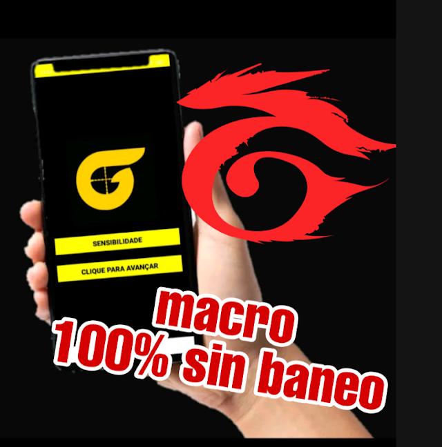 INSTALA esta NUEVA APP macro sin BANEO para FREE FIRE%100 SEGURO