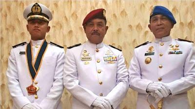 Muhammad Faugi, Anak Mantan Wako Padang Fauzi Bahar Dilantik Jadi Perwira TNI AL