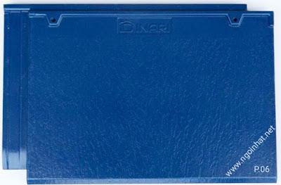 Ngói phẳng màu xanh dương