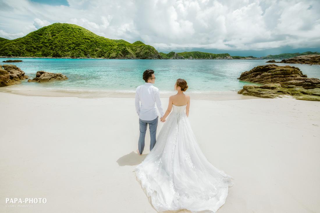 PAPA-PHOTO,自助婚紗,沖繩婚紗,阿波連,慶良間,渡嘉敷島,沖繩離島婚紗,婚紗包套