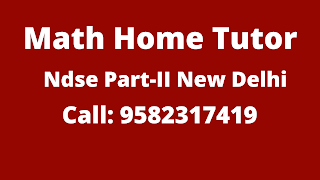 Best Maths Tutors for Home Tuition in NDSE Part-2, Delhi