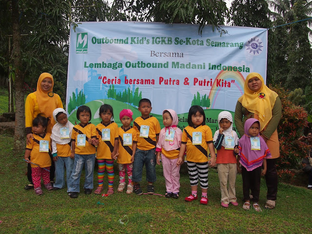Outbound Kid bersama Madani Indonesia,