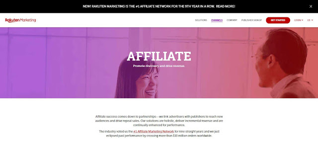 make money with Rakuten Marketing Affiliates