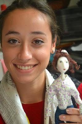 stage petite poupée articulée cernit dolls chez Cathy Vagnon