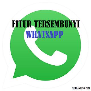 fitur tersembunyi di Aplikasi Whatsapp