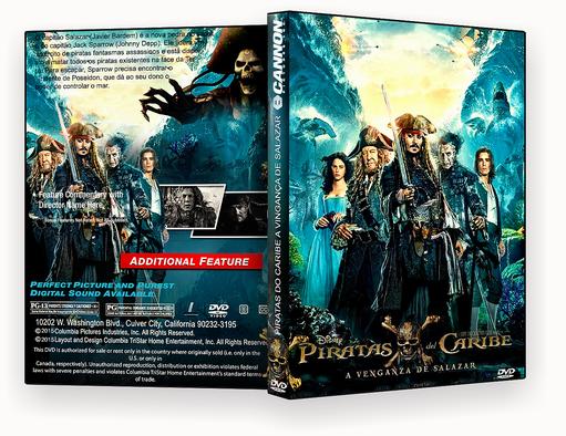 CAPA – Piratas Do Caribe A Vinganca De Salazar DVD-R