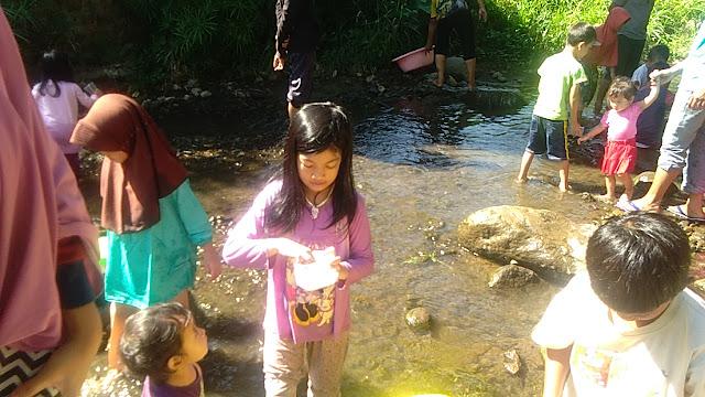 kecehan sungai di Ungaran