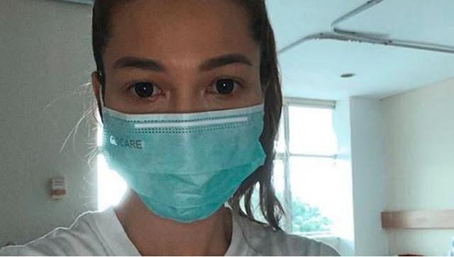 Aktris Cantik Andrea Dian Umumkan Dirinya Positif Virus Corona