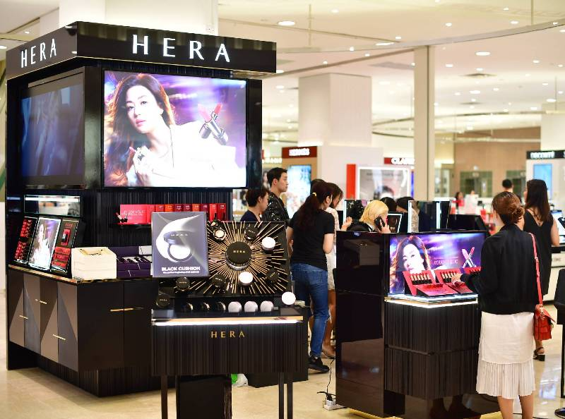 takashimaya new brands hera korean beauty cosmetics