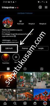 Cara membuat Blog Pribadi di Ig, Jadikan tampilan instagram yang profesional