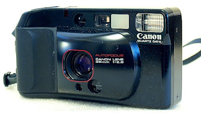 Canon Autoboy 3. Front view