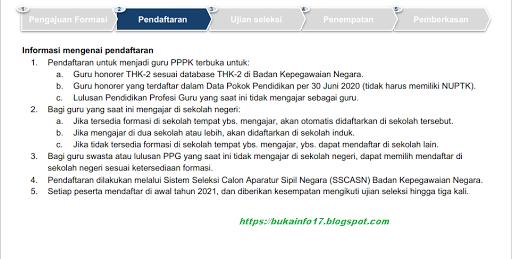 Jadwal Pendaftaran Pppk 2021 - Informasi CPNS/ASN ...