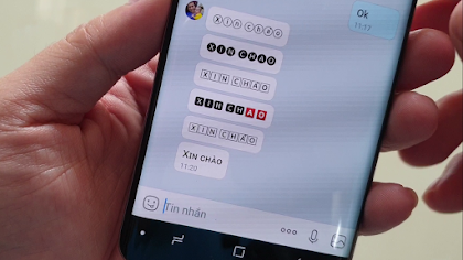 Cách thay đổi font chữ khi nhắn trên trên Zalo, Messenger