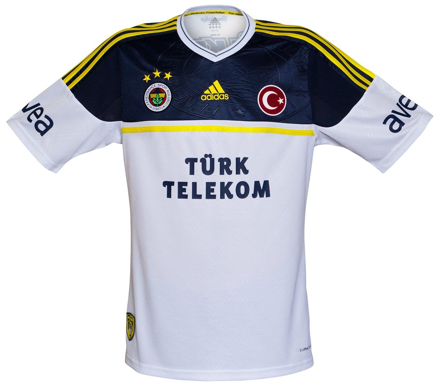 8f3e35be7 Adidas apresenta os novos uniformes do Fenerbahce - Show de Camisas