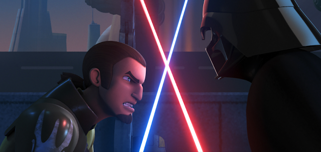 Star Wars Rebels Sezonul 2: Kanan vs. Darth Vader