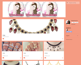 Blog como loja virtual