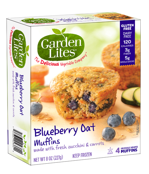 The weekend gourmet wendy 39 s favorite things for july - Garden lites blueberry oat muffins ...