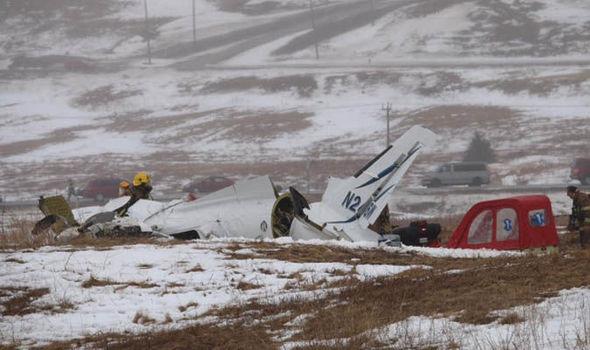 Acidente de avião deixa sete mortos