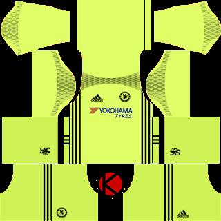 Chelsea Kits 2016/2017 - Dream League Soccer 2016 & FTS15