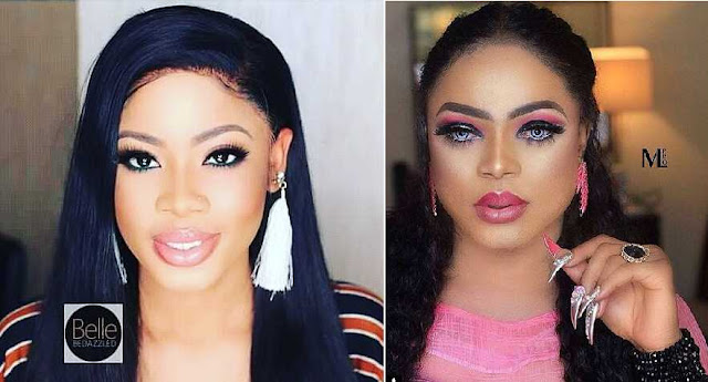 Again! Bobrisky Shades Nina, Says She's Not Progressing